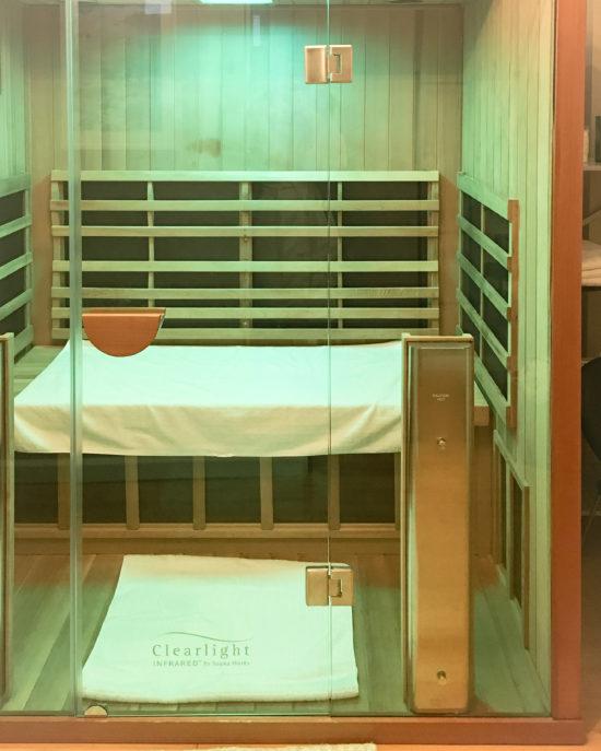 healthy travel infrared sauna
