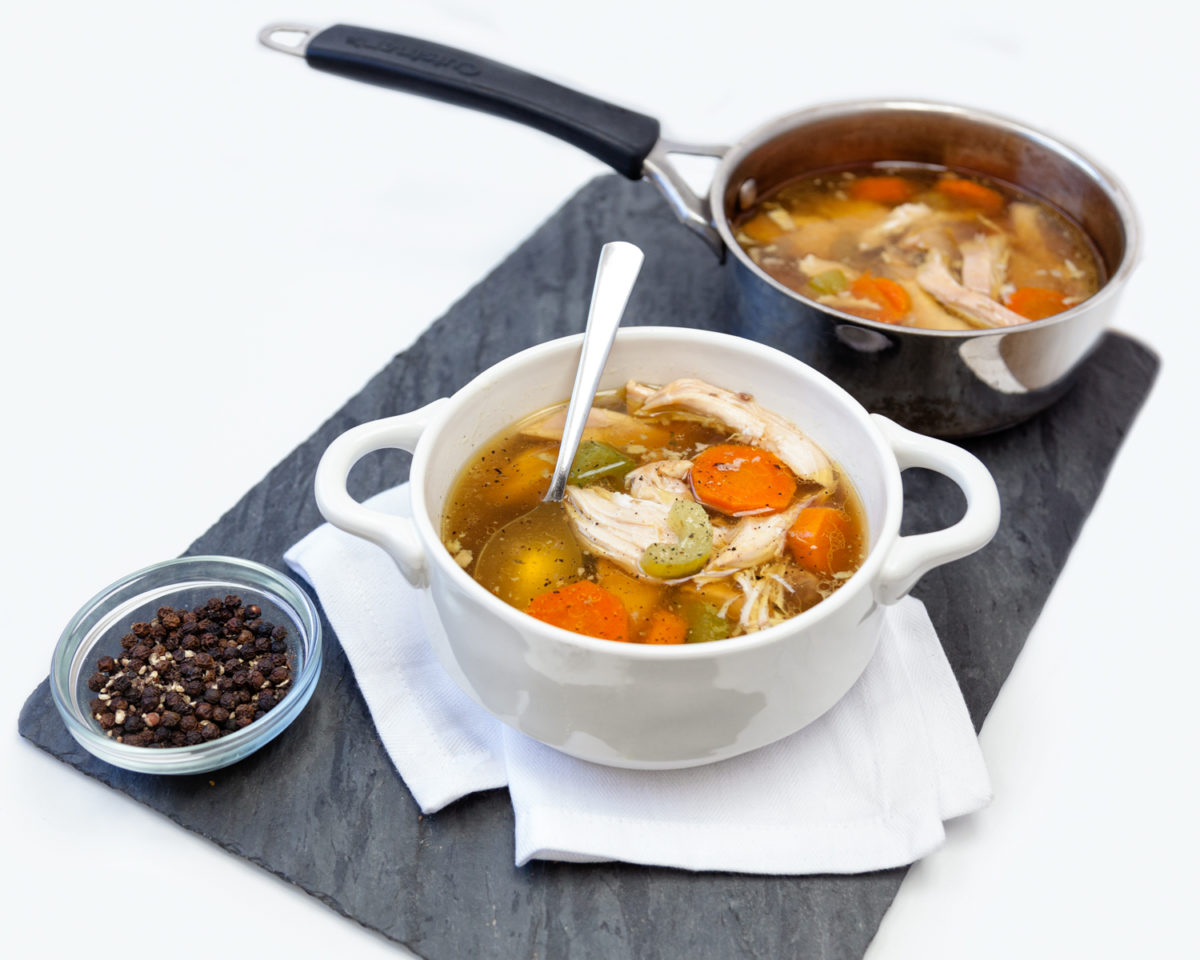 Kerri Axelrod Slow Cooker Chicken Soup Recipe