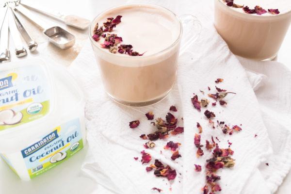 Kerri Axelrod Carrington Farm Rose Tea Latte