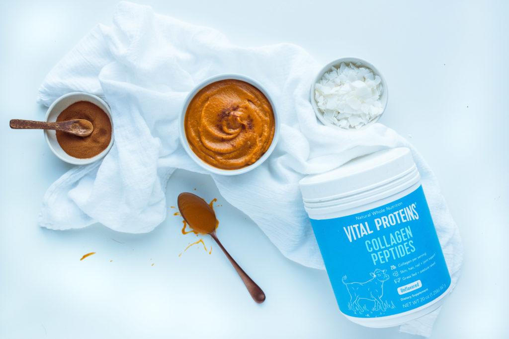 Kerri Axelrod Vital Proteins Smoothie ingredients