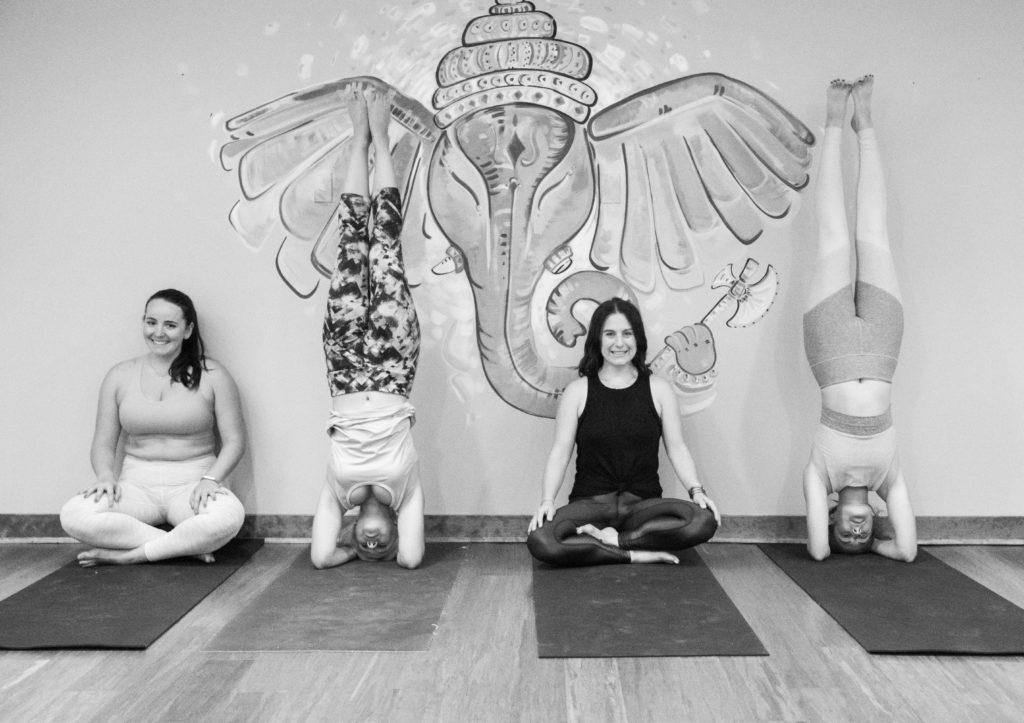 Kerri Axelrod at YogaWorks