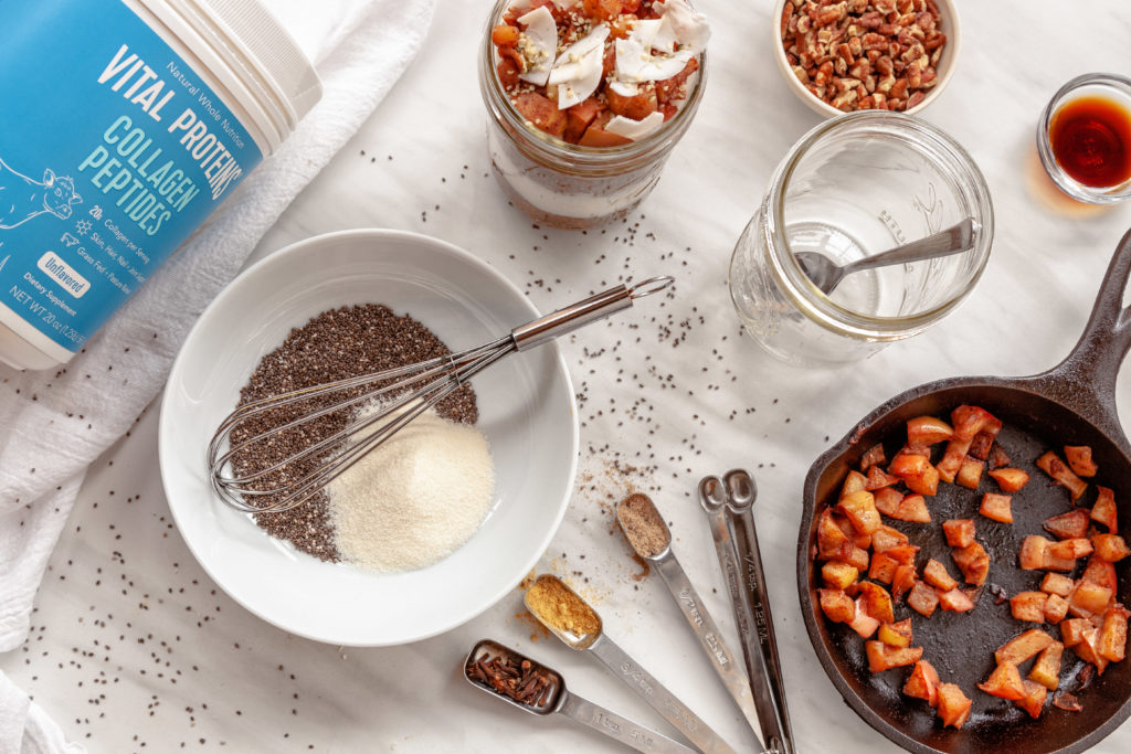 Kerri Axelrod Vital Proteins Chai Chia Pudding Recipe
