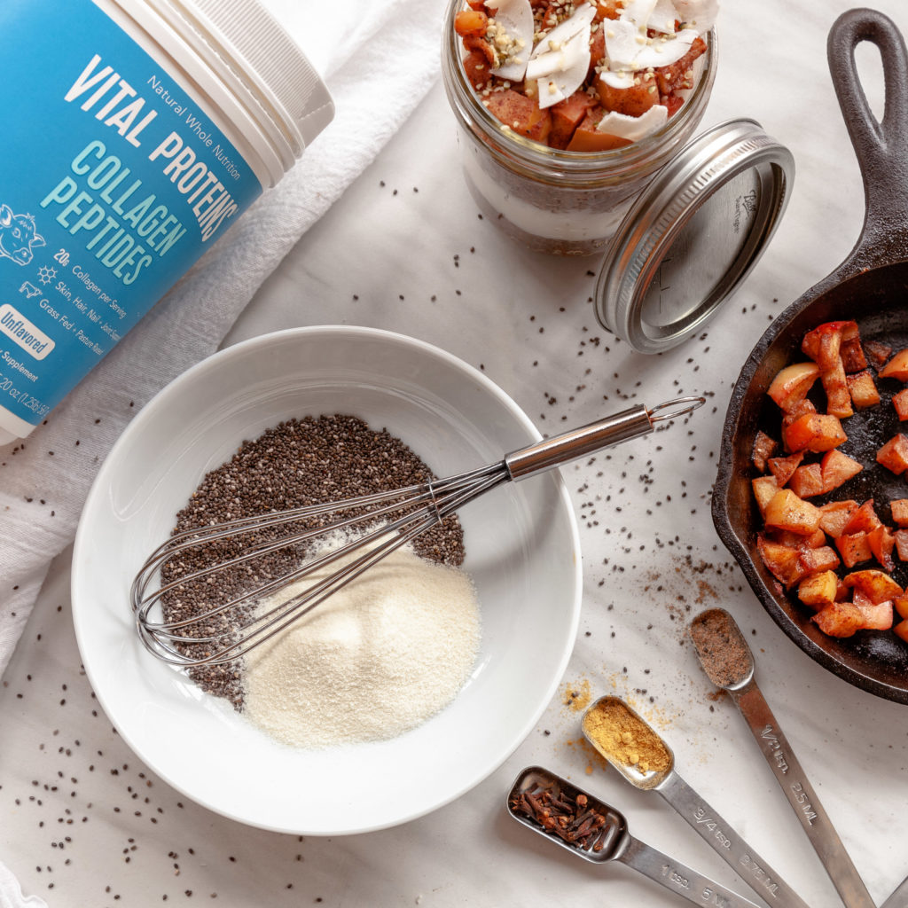 Kerri Axelrod Chai Chia Pudding Recipe