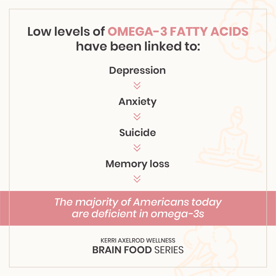 Kerri Axelrod Brain Food Omega-3 Fatty Acids
