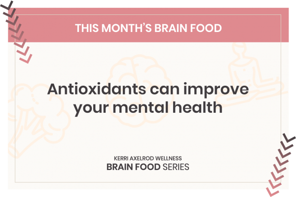 antioxidants and depression and anxiety