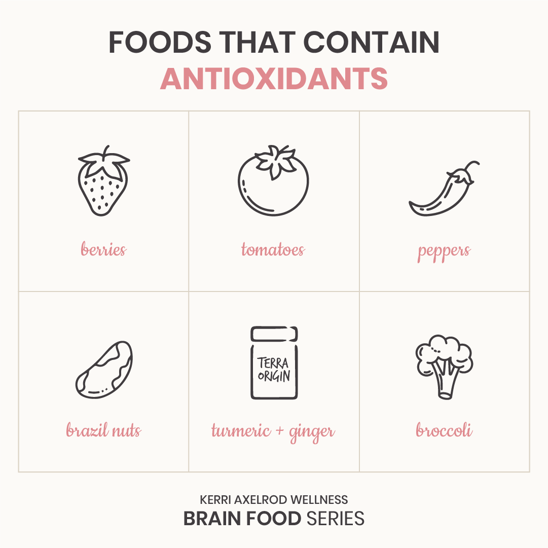 foods that contain antioxidants
