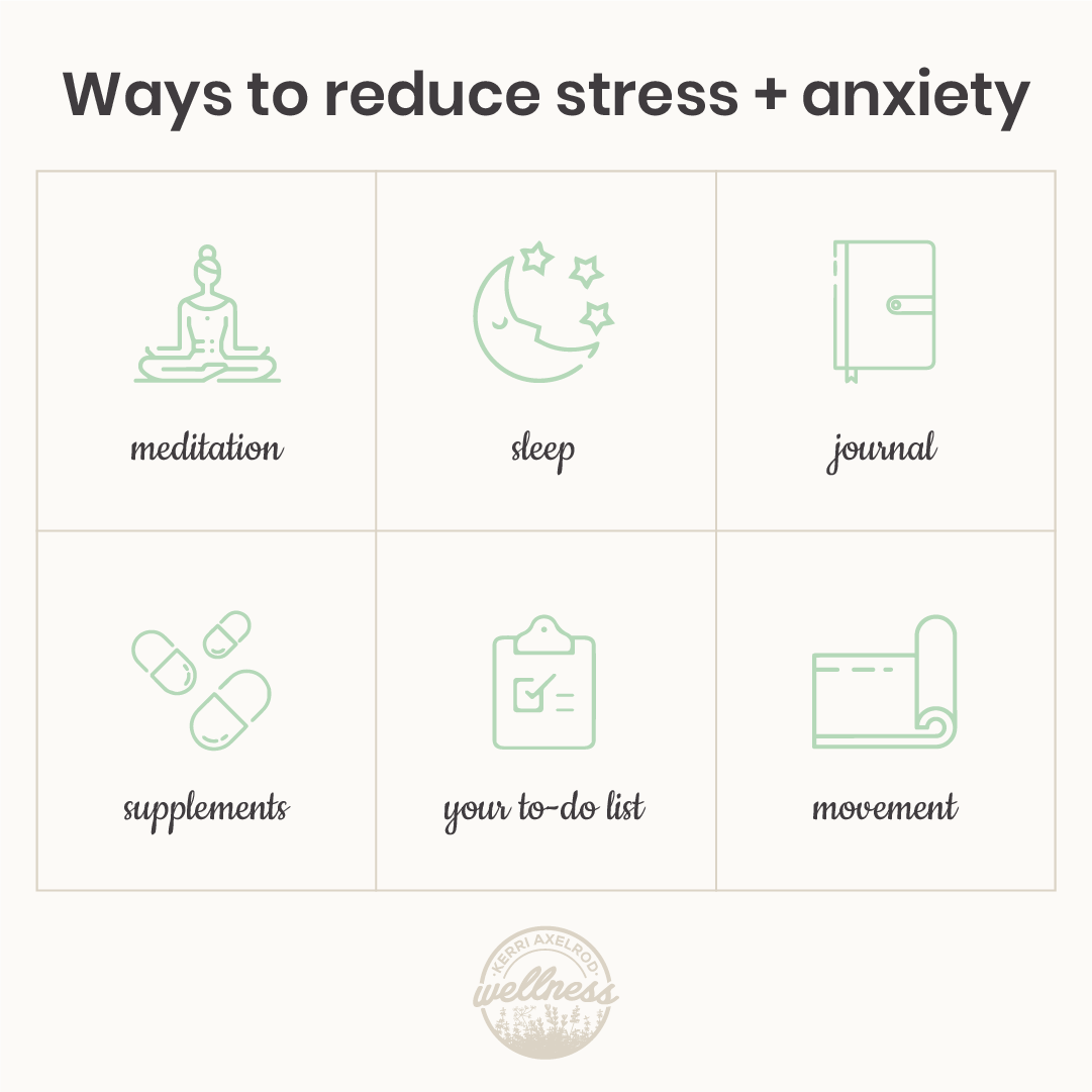 ways to beat stress and anxiety